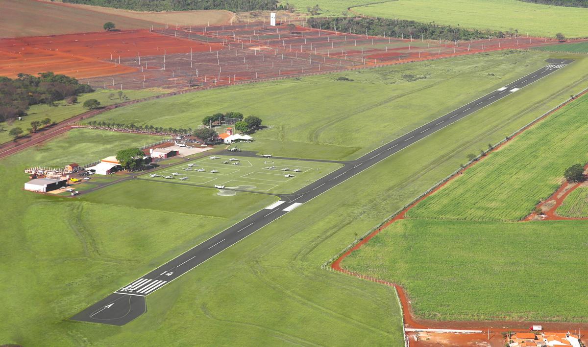 Após a reforma, a pista pode receber aeronaves de até 22 toneladas.